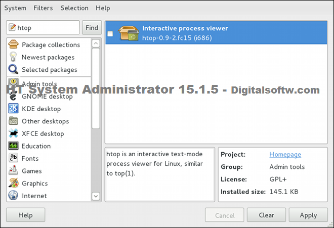 HT System Administrator 15.1.5